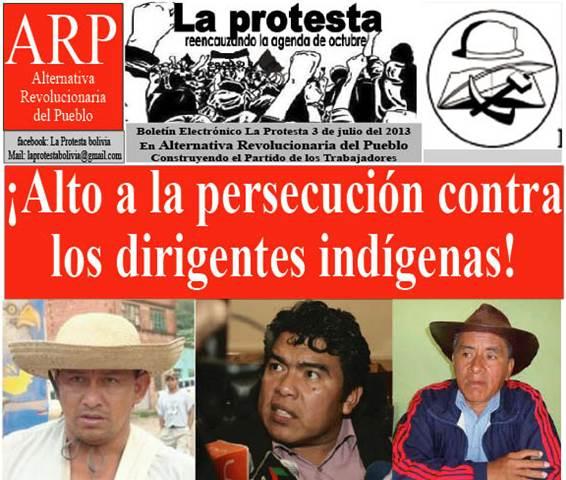 represión indigenas