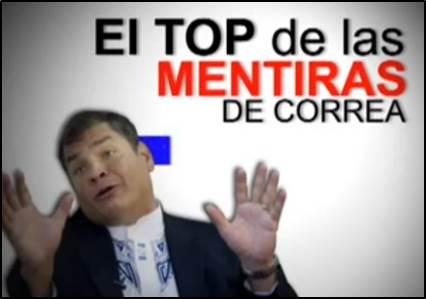 Correa miente