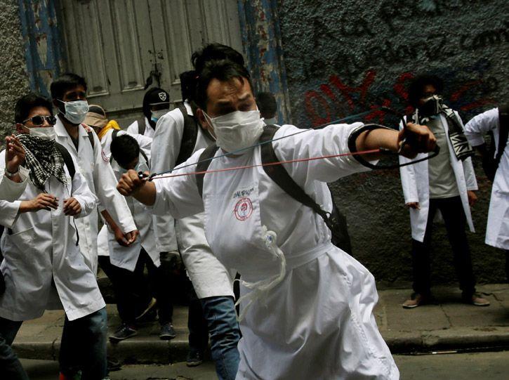 Patria InSurGente » El conflicto medico en Bolivia